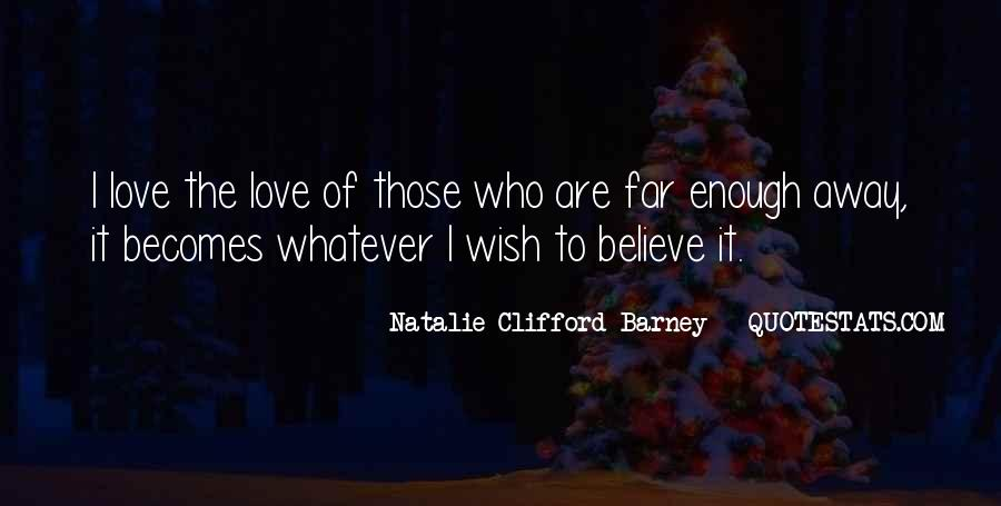 Natalie Clifford Barney Quotes #971905
