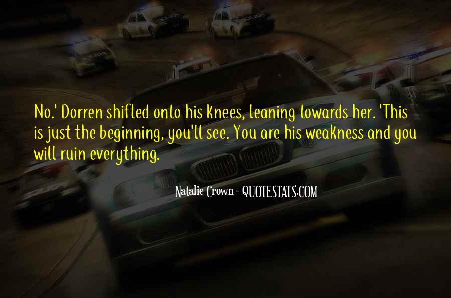 Natalie Crown Quotes #859365