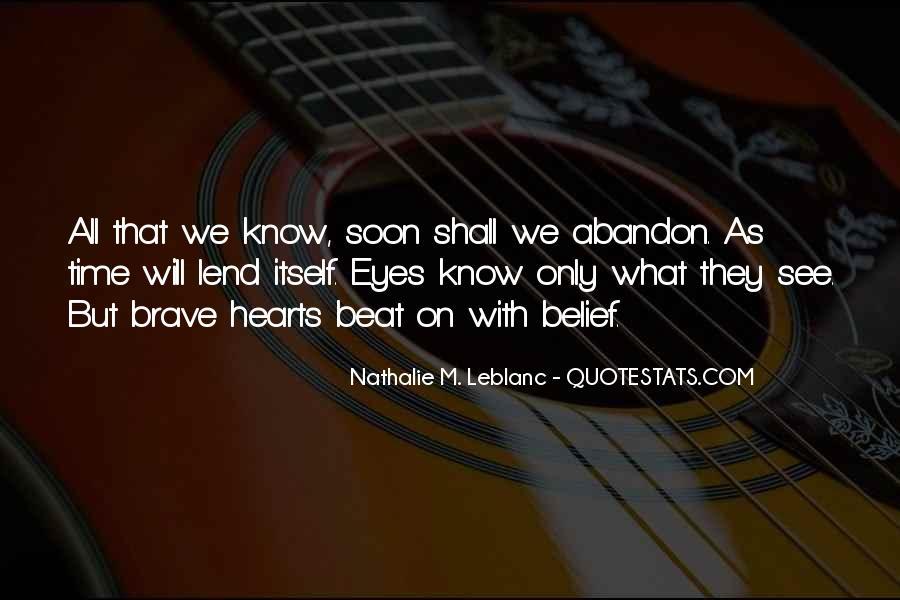 Nathalie M. Leblanc Quotes #1829385
