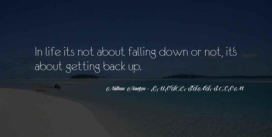 Nathan Hangen Quotes #664036