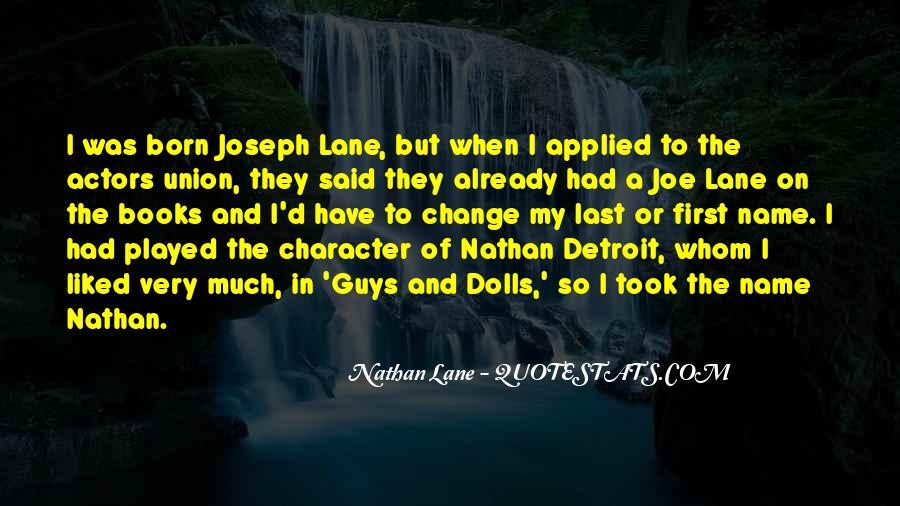 Nathan Lane Quotes #766537