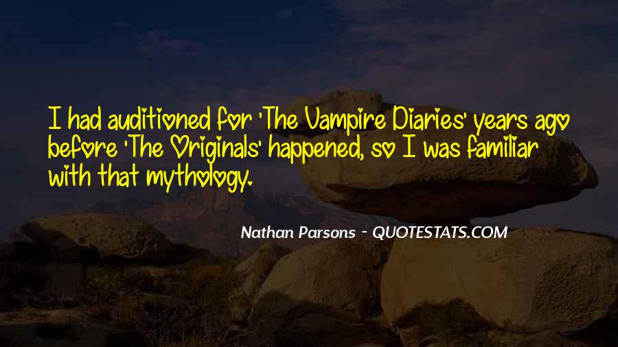 Nathan Parsons Quotes #1349825
