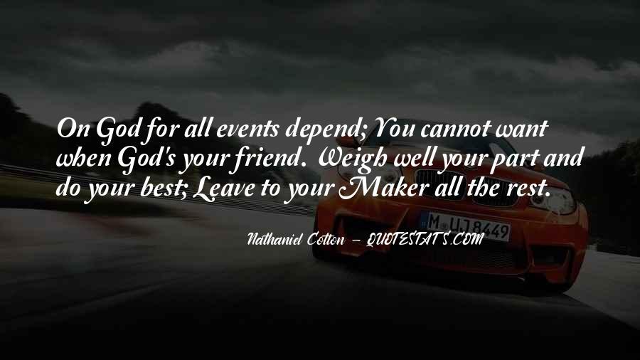 Nathaniel Cotton Quotes #870022