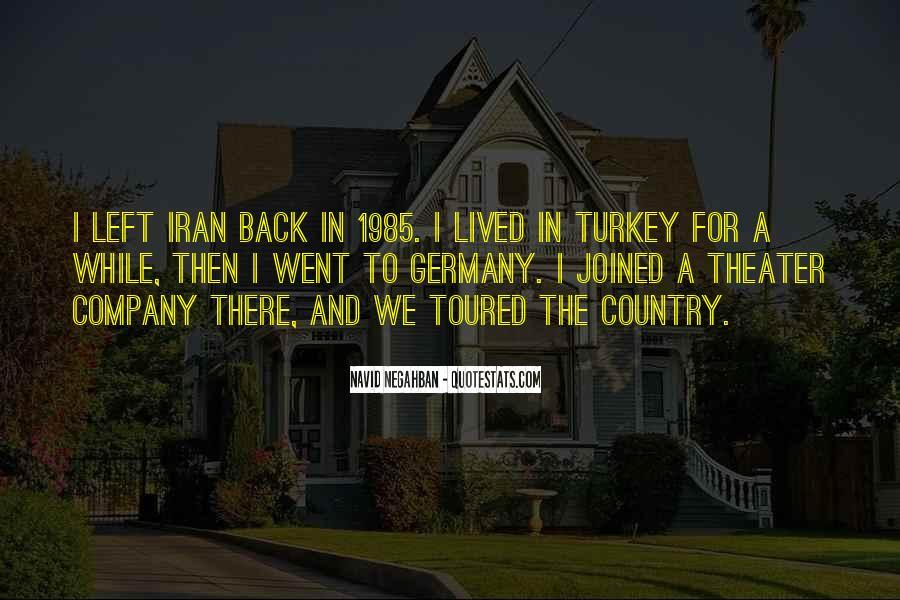 Navid Negahban Quotes #526870