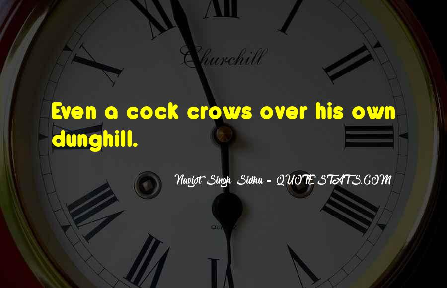 Navjot Singh Sidhu Quotes #450046