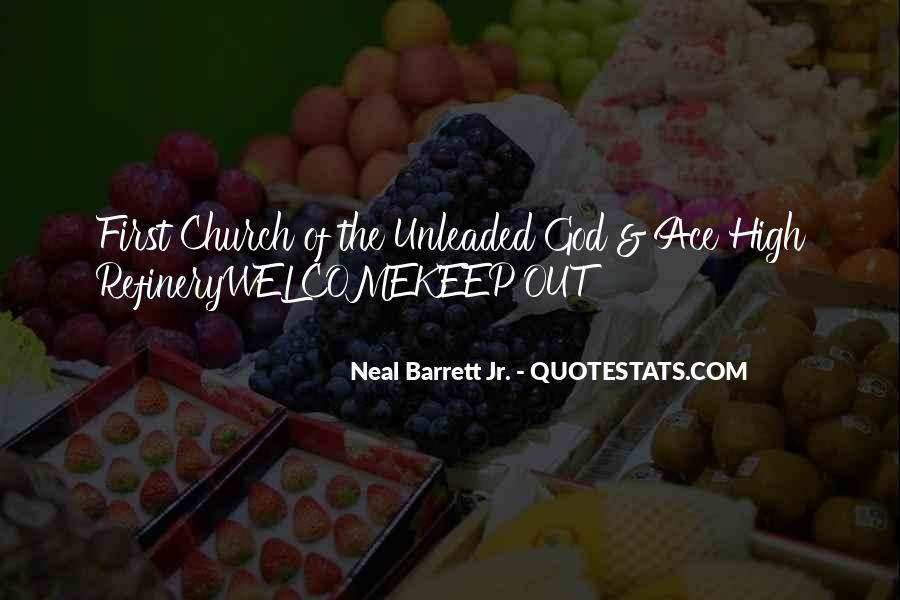 Neal Barrett Jr. Quotes #833293