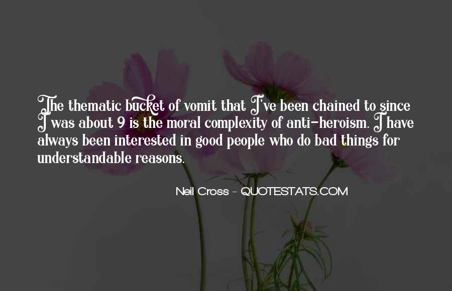 Neil Cross Quotes #156353