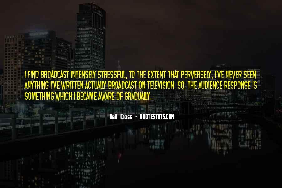 Neil Cross Quotes #536836