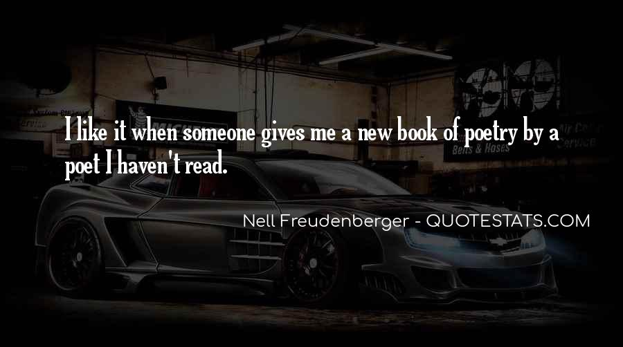 Nell Freudenberger Quotes #18155