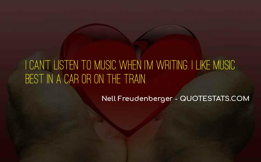 Nell Freudenberger Quotes #719736