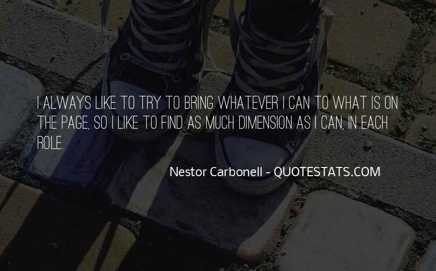 Nestor Carbonell Quotes #716223