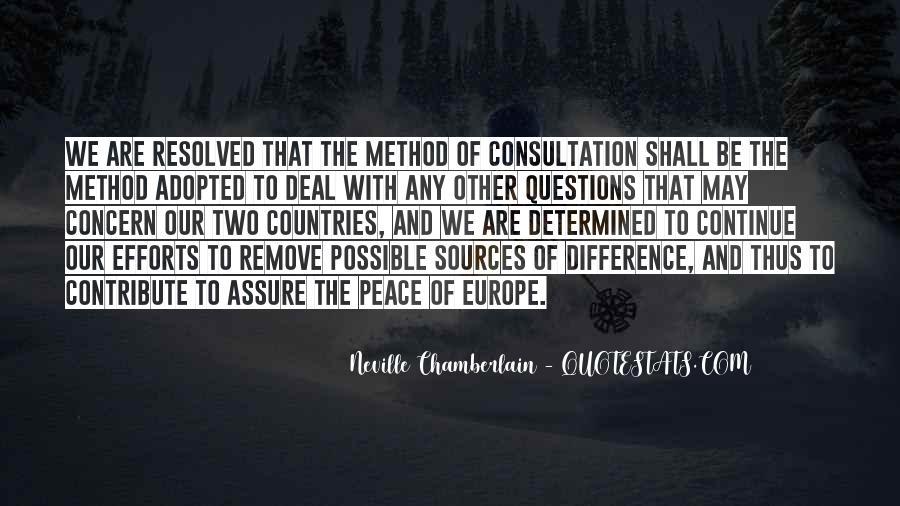 Neville Chamberlain Quotes #1020765