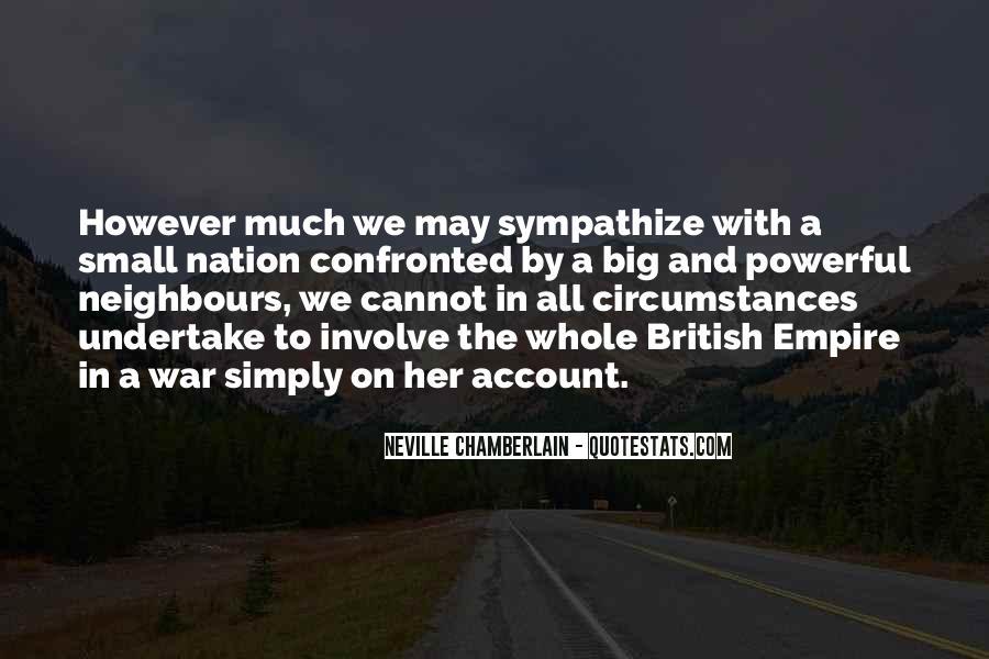 Neville Chamberlain Quotes #1194997