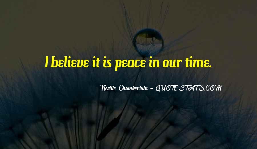 Neville Chamberlain Quotes #1352634