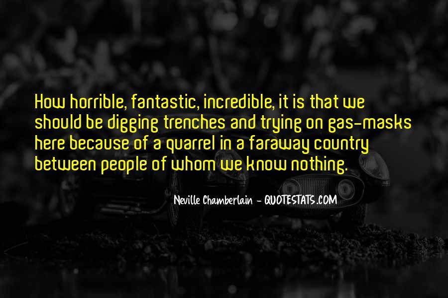 Neville Chamberlain Quotes #137788