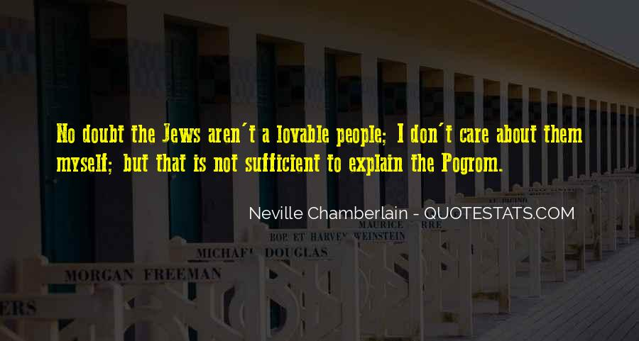 Neville Chamberlain Quotes #1480840