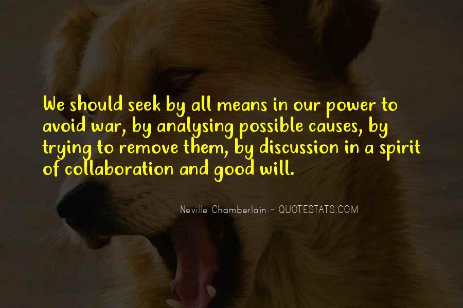 Neville Chamberlain Quotes #1649656