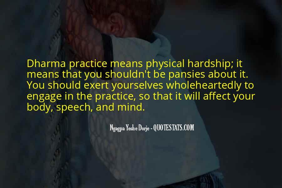 Ngagpa Yeshe Dorje Quotes #512634