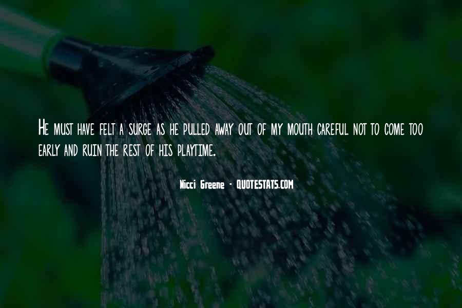 Nicci Greene Quotes #1509422