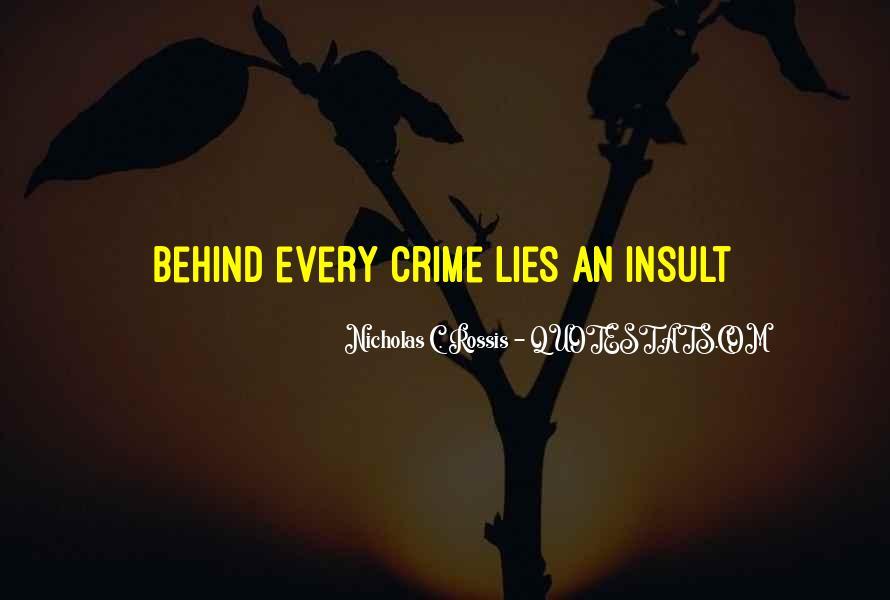 Nicholas C. Rossis Quotes #976182