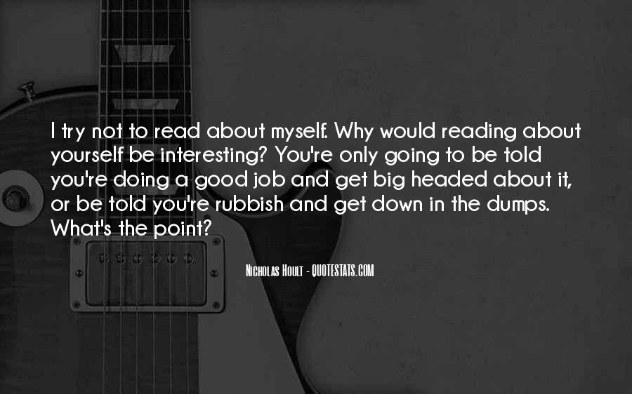 Nicholas Hoult Quotes #1057670