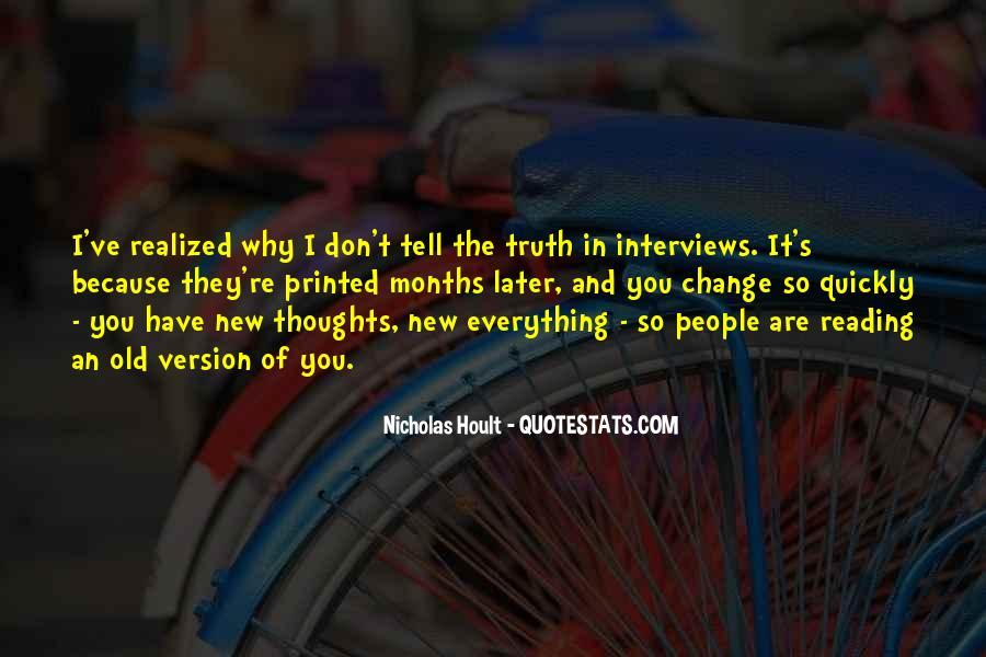 Nicholas Hoult Quotes #1293071