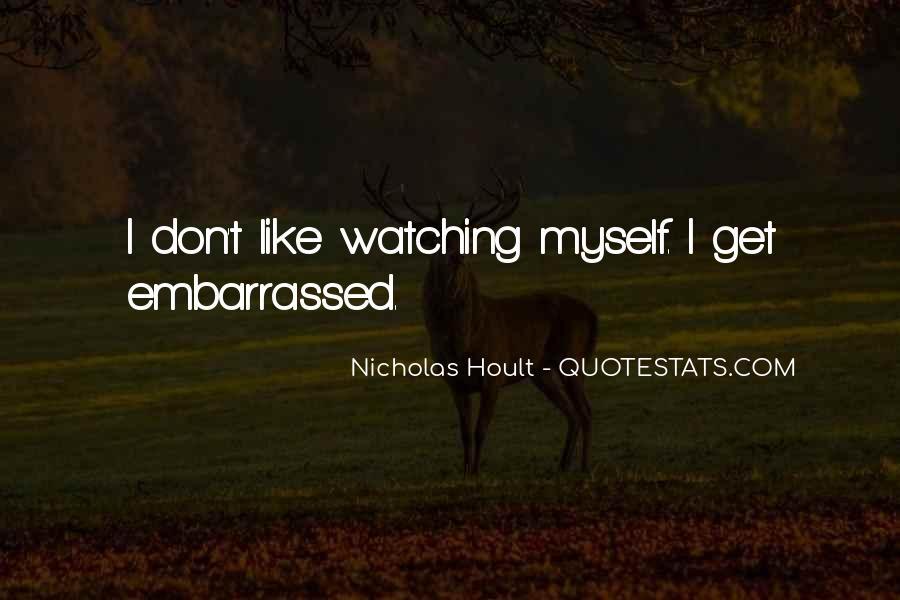 Nicholas Hoult Quotes #1294986