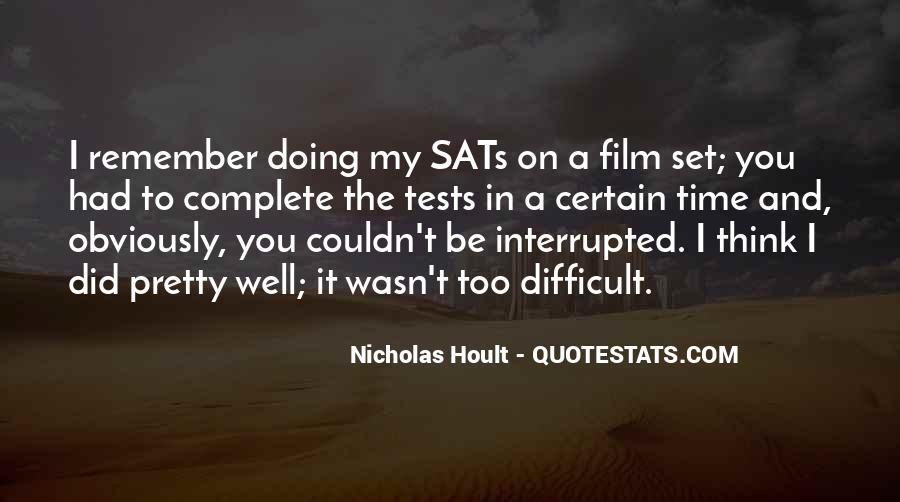 Nicholas Hoult Quotes #1368724