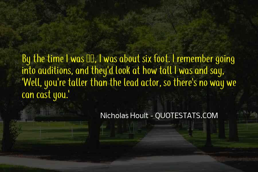 Nicholas Hoult Quotes #1373215