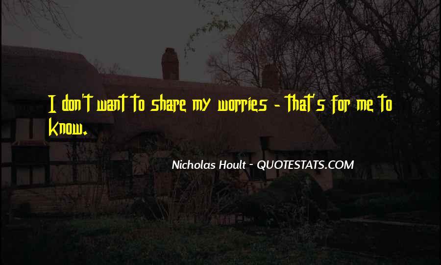 Nicholas Hoult Quotes #1612339