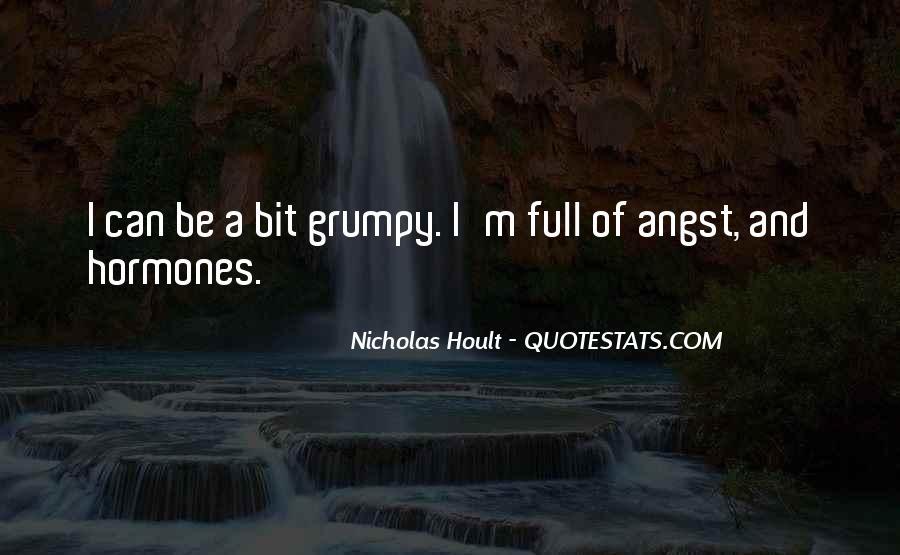 Nicholas Hoult Quotes #1785232