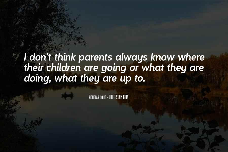 Nicholas Hoult Quotes #275166