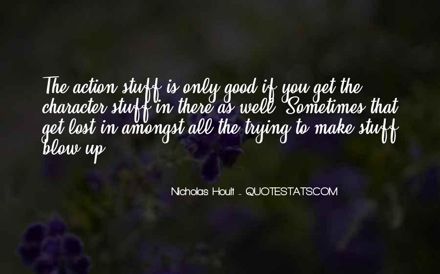 Nicholas Hoult Quotes #570412