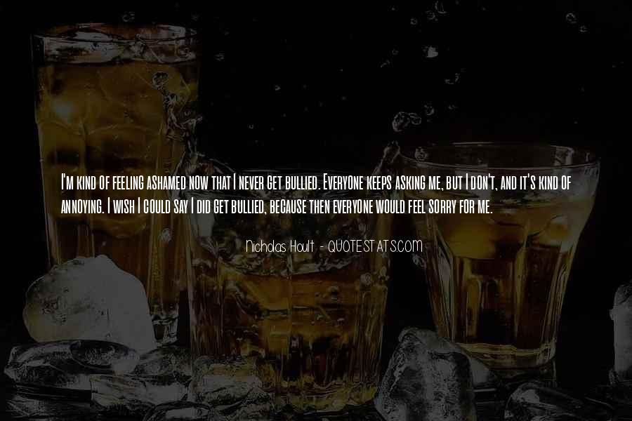 Nicholas Hoult Quotes #581094