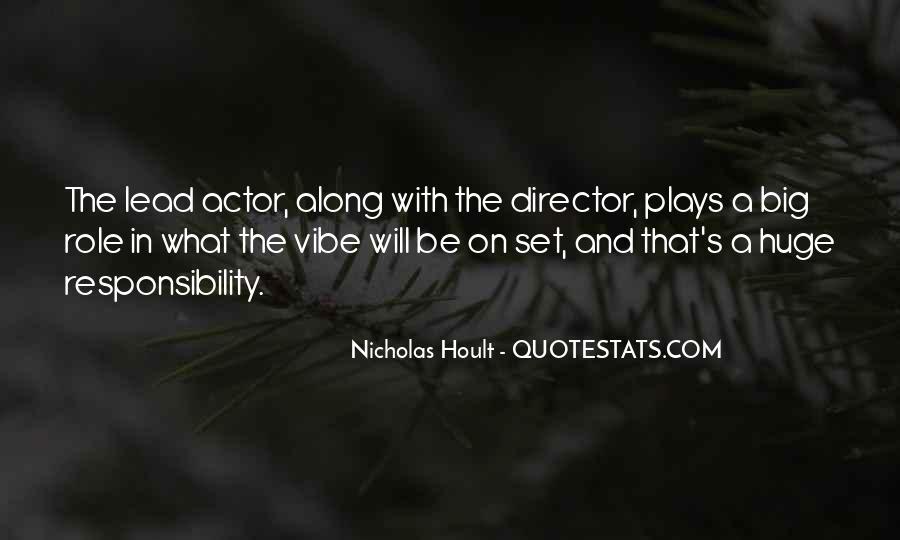Nicholas Hoult Quotes #672192