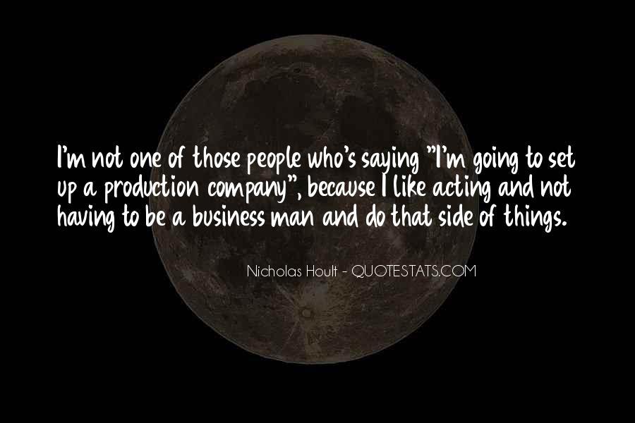 Nicholas Hoult Quotes #736122