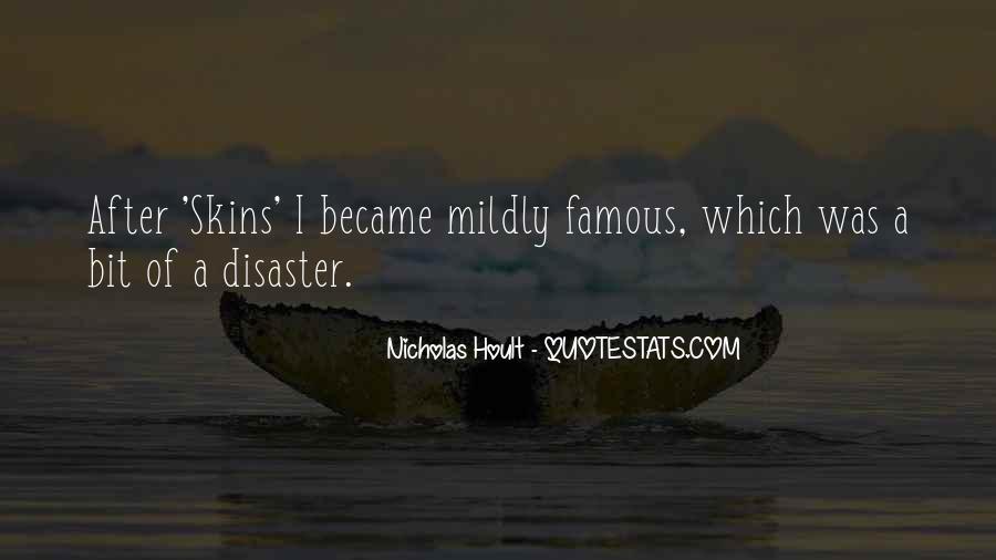 Nicholas Hoult Quotes #929412
