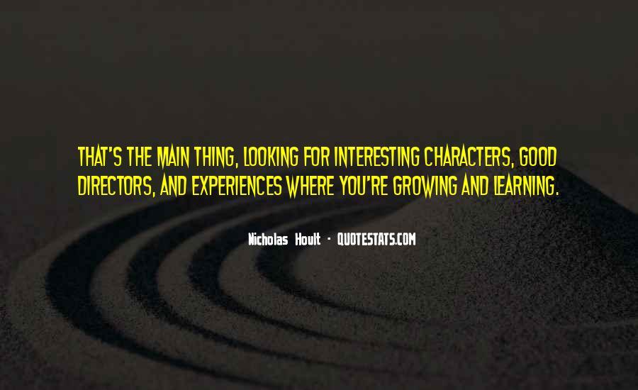 Nicholas Hoult Quotes #939551