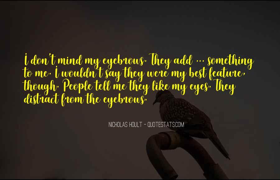 Nicholas Hoult Quotes #984771