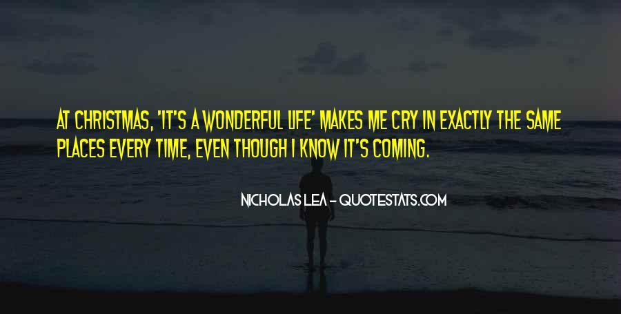 Nicholas Lea Quotes #1485427
