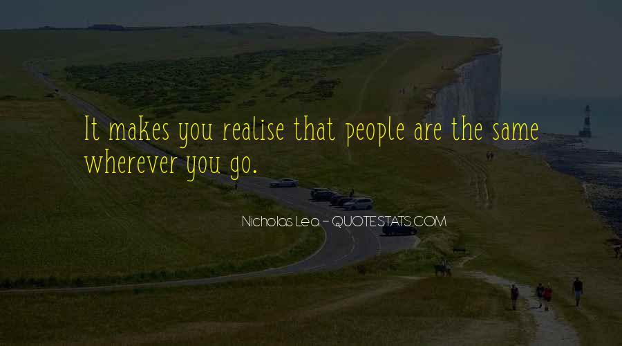 Nicholas Lea Quotes #1487995