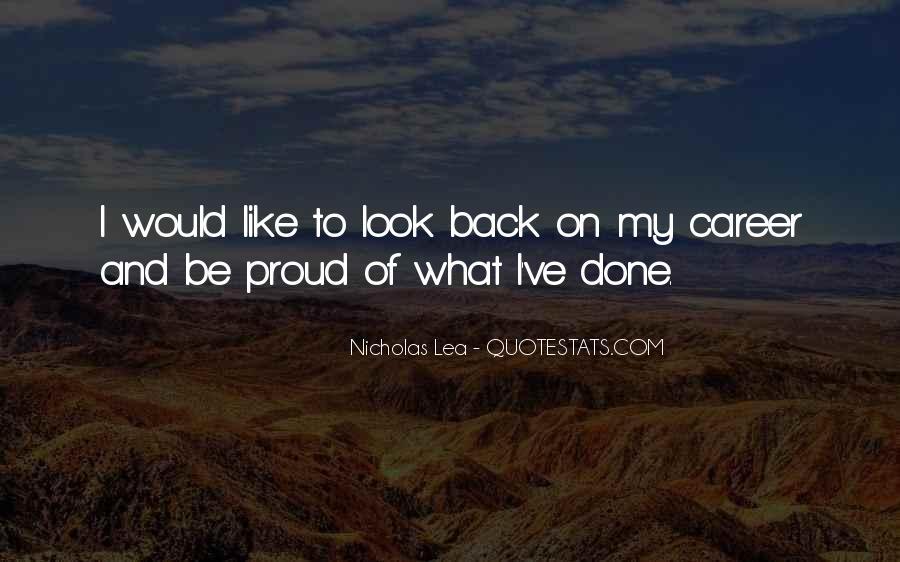 Nicholas Lea Quotes #1533486