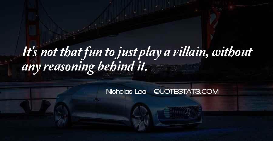 Nicholas Lea Quotes #256700