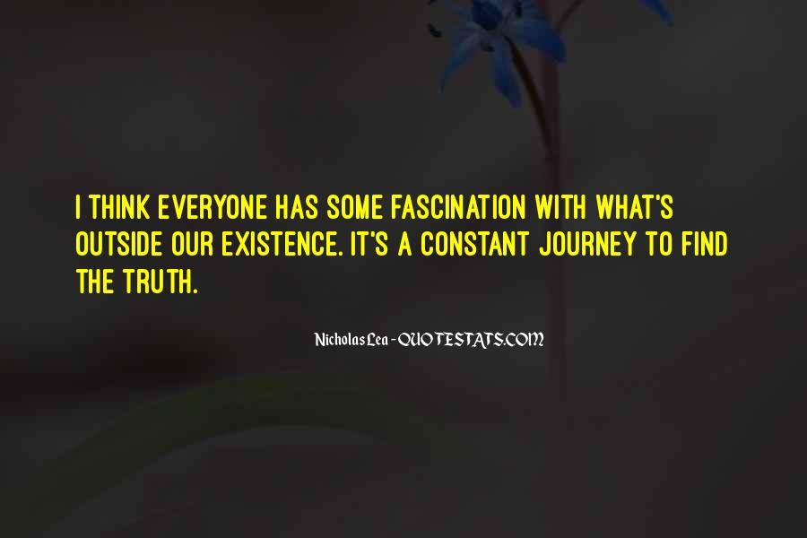 Nicholas Lea Quotes #406183