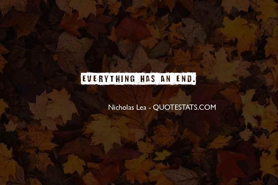 Nicholas Lea Quotes #410516