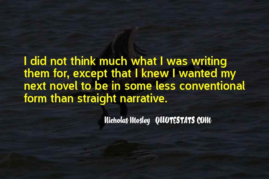 Nicholas Mosley Quotes #1495851