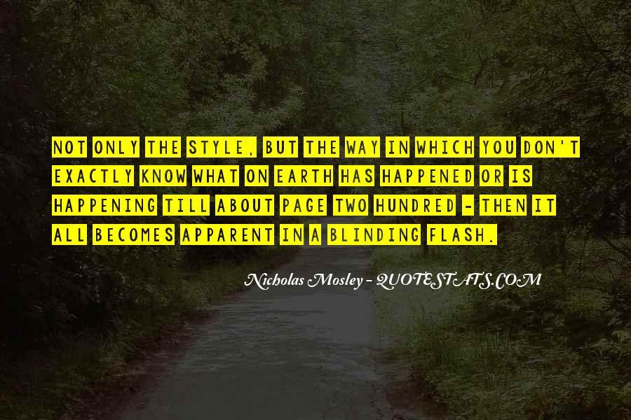 Nicholas Mosley Quotes #845957