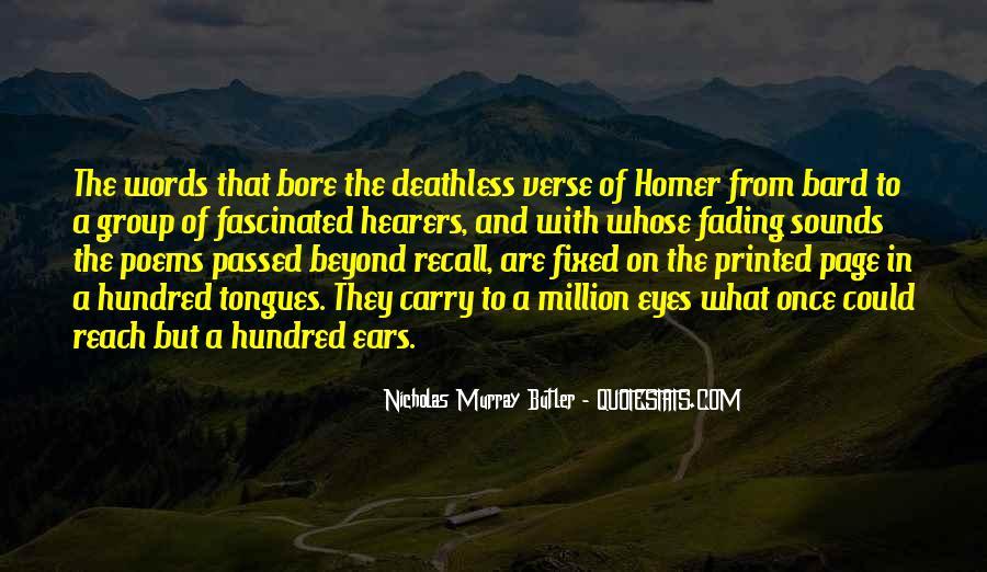 Nicholas Murray Butler Quotes #1275660