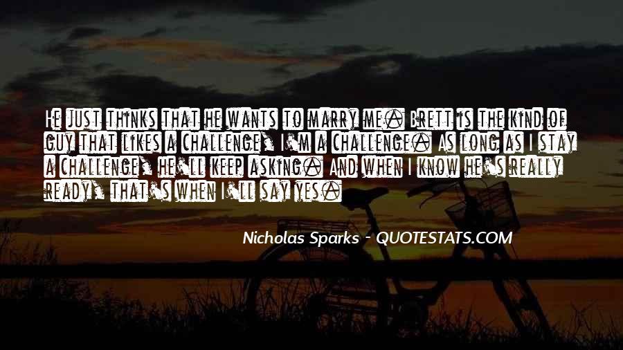Nicholas Sparks Quotes #1027582