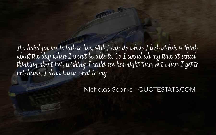 Nicholas Sparks Quotes #110602